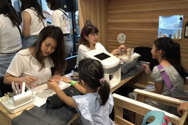 HOPE AND LOVE DAY 2018 TOKYOにてINAILをご利用いただきました